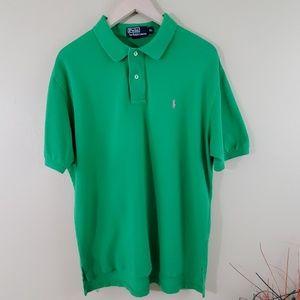 Polo by Ralph Lauren Mens Short Sleeve Shirt Green